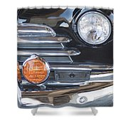 1948 Chevrolet Grille Fleetmaster Shower Curtain