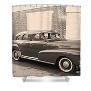 1948 Chevy Shower Curtain