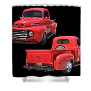 1948 Custom Ford F-100 Pick Up Shower Curtain