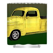 1948 Custom Ford Pick Up Shower Curtain