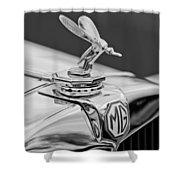 1948 Mg Tc - The Midge Hood Ornament Shower Curtain