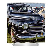 1948 Plymouth Special Deluxe Coupe  Shower Curtain
