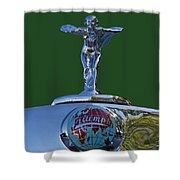 1948 Triumph  Shower Curtain