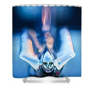 1949 Cadillac Hood Ornament 1 Shower Curtain