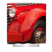 1949 Diamond T Truck Front End Shower Curtain