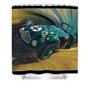 1950 Allard J-2 Lemans Car Shower Curtain