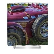 1950 Allard J2 Competition Roadster Shower Curtain