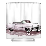 1953 Cadillac El Dorado Shower Curtain