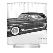 1950 Chrysler Newport Shower Curtain