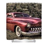 1950 Custom Mercury Subdued Color Shower Curtain