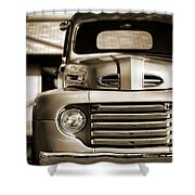 1950 Ford F-100 Shower Curtain