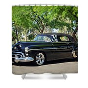 1950 Oldsmobile 88 -004c Shower Curtain