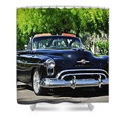 1950 Oldsmobile 88 -105c Shower Curtain