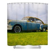 1950 Pontiac Chieftan Shower Curtain