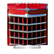 1950 Willys Jeepster Gtille Shower Curtain