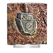 1950's Ford Truck Emblem Shower Curtain