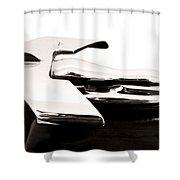 1950s Nash Hood Ornament Shower Curtain