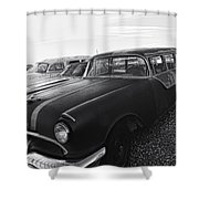 1950's Pontiac By Cathy Anderson  Shower Curtain