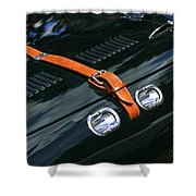 1951 Allard J2 Competition Roadster Shower Curtain