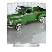 1951 Chevy Pick-up Shower Curtain