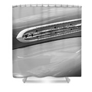 1951 Ford F1 Pickup Truck Bw Shower Curtain