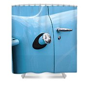 1951 Ford F1 Pickup Truck  Shower Curtain