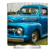 1951 Ford Shower Curtain
