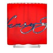 1951 Kaiser Henry J Emblem -460c Shower Curtain