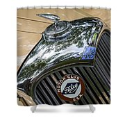 1951 Riley Shower Curtain