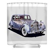 1952 Bentley M K Four Shower Curtain