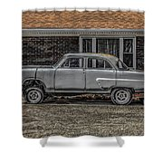 1952 Ford Shower Curtain