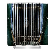 1952 Jag Xk120 Shower Curtain