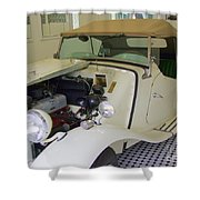 1952 Mg Roadster Shower Curtain