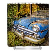 1952 Plymouth Shower Curtain