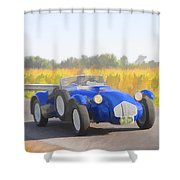 1953 Allard J2x Roadster Shower Curtain