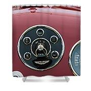1953 Aston Martin Db2-4 Bertone Roadster Instrument Panel Shower Curtain