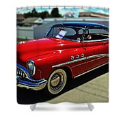 1953 Buick Shower Curtain