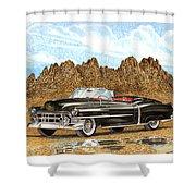 1953 Cadillac Eldorado Biarritz Shower Curtain