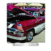 1953 Chevy Belair Shower Curtain