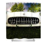 1954 Corvette Stingray Shower Curtain