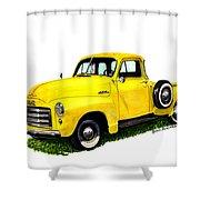 G M C 5-window Pick-up Shower Curtain