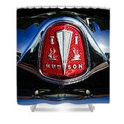 1953 Hudson Hornet Sedan Emblem Shower Curtain