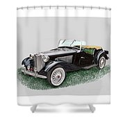 Mg T D 1953 Shower Curtain