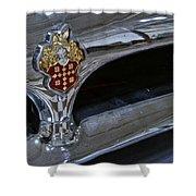 1953 Packard Clipper Grill Shower Curtain