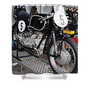 1954 Bmw Rs54 Shower Curtain