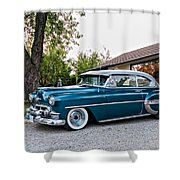 1954 Chevrolet Bel Air Shower Curtain