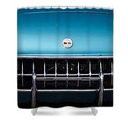1954 Chevrolet Corvette Grille Emblem -249c Shower Curtain