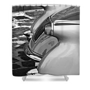 1954 Chevrolet Corvette Taillights -304bw Shower Curtain
