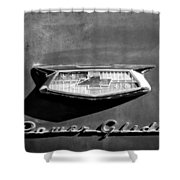 1954 Chevrolet Power Glide Emblem Shower Curtain by Jill Reger