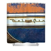 1954 Chevy Bel Air Shower Curtain